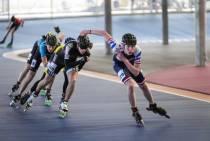 Start topsportevenementen inlineskaters in Heerenveen