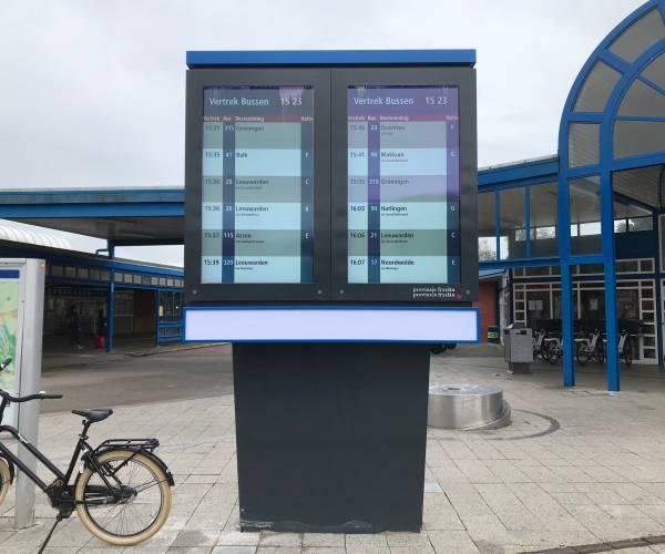 Dynamisch Reizigers Informatie Systeem op station Heerenveen