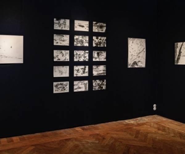 Feestelijke afsluiting zomerexpositie met tekeningen van Liesje van den Berk en Gerben Dirven
