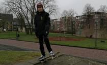 """Skaters zijn blij met parkeergarage """"Ik focus me op andere dingen dan op corona"""""""