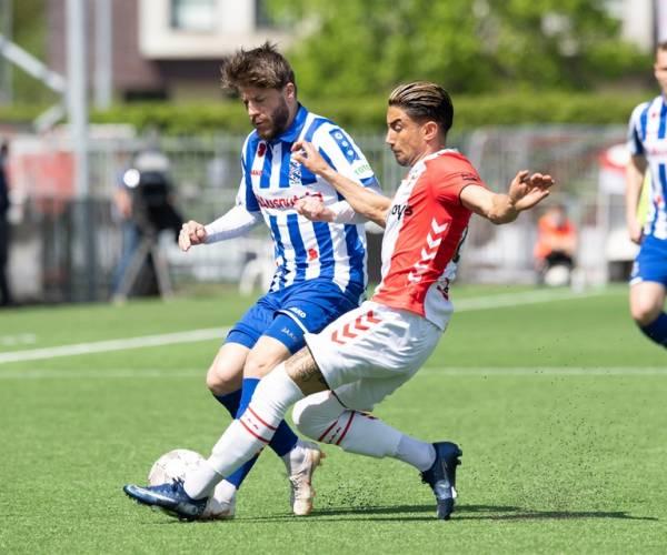 sc Heerenveen verliest dramatische wedstrijd in Emmen
