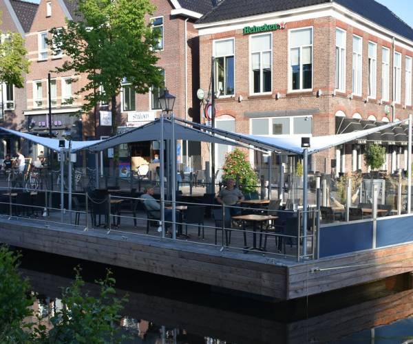 Gert Jan Mulder van café De Oase: