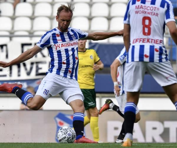 sc Heerenveen wint van Fortuna Sittard