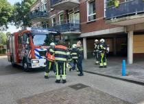 Gaslekkage in appartement aan de Veilingstraat