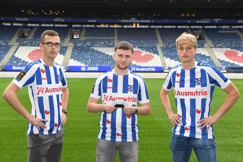 These are the brand new e-athletes of sc Heerenveen