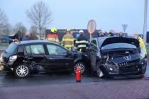 Drie gewonden bij ongeval op de Koaibosk bij Gorredijk
