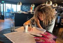 Vrouwen sc Heerenveen proberen met belactie groot aantal kleinere sponsoren te krijgen