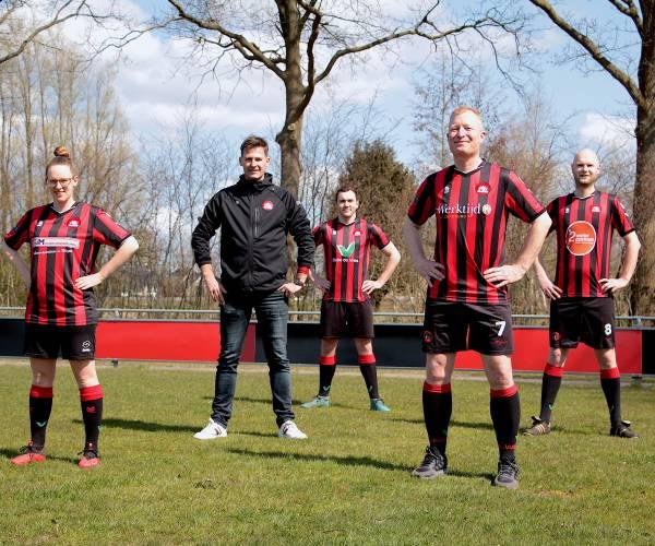 Vier teams Read Swart in het nieuw