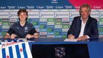 15-jarige  middenvelder Tygo Land tekent voor drie seizoenen bij sc Heerenveen