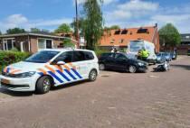 Motorrijder gewond bij ongeval op de Tuymelaarstraat