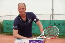 Tennistrainer 10 jaar in Akkrum: ,,Als een tweede thuis''