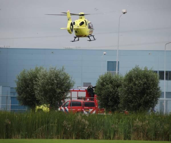 Gewonde bij bedrijfsongeval in Heerenveen