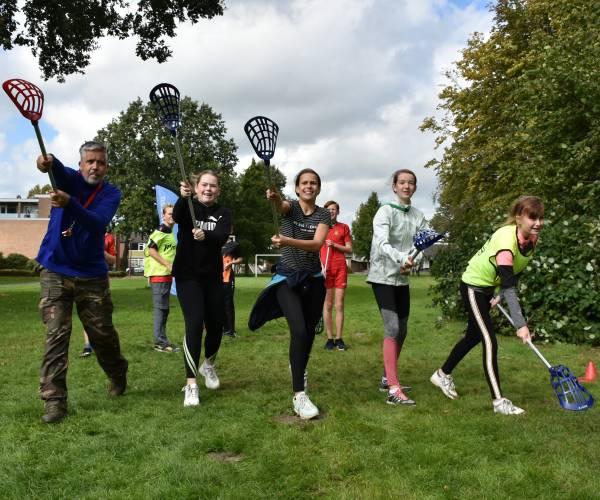 500 leerlingen doen mee aan Adventure Trail Heerenveen