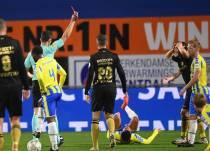 sc Heerenveen speelt met tien man gelijk bij RKC