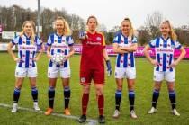Voetbalsters sc Heerenveen zetten zich samen met jeugd in voor Plan International