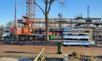 Nieuwbouw woningen op het oude sportterrein van Udiros in Nieuwehorne gestart