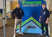 De eerste Freerun University van Friesland komt in Heerenveen